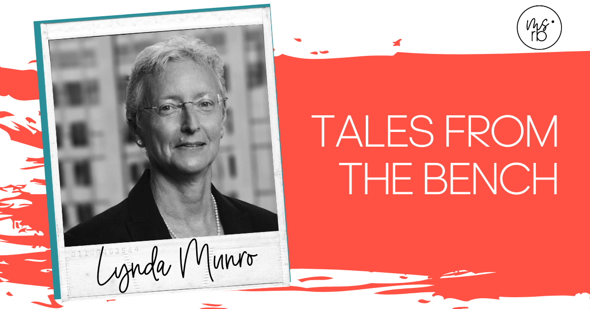 5. Tales From the Bench with Lynda Munro